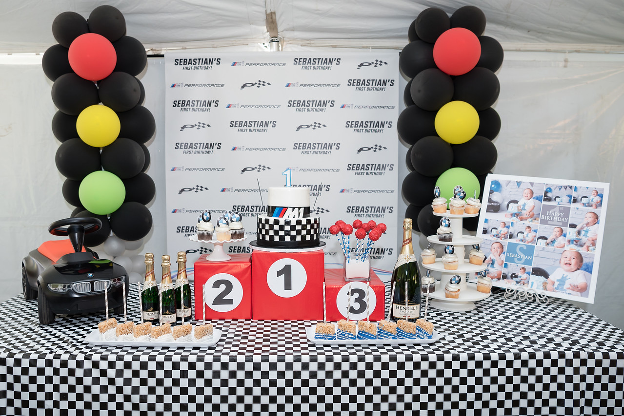 M1 We Threw A BMW Themed Birthday Party For 1 Year Old
