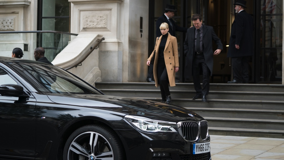 The BMW 7 Series stars alongside Jennifer Lawrence in Red Sparrow ...