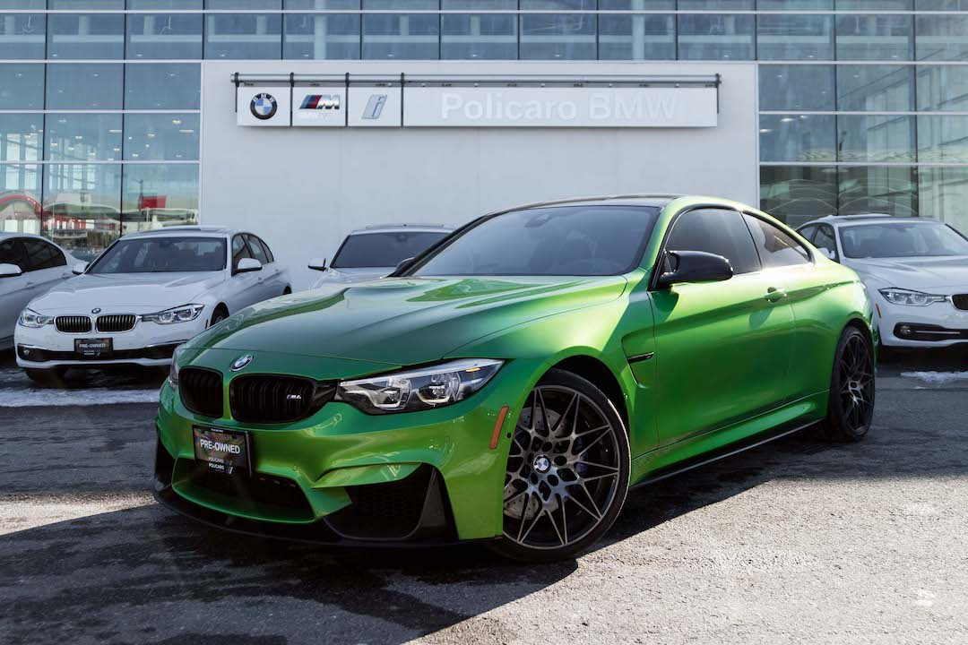 Pre-owned 2018 BMW M4 Competition