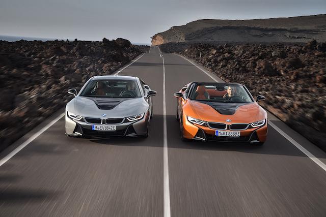 new BMW i8 roads