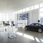 BMW display area