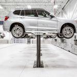 BMW service garage