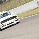 white bmw racing